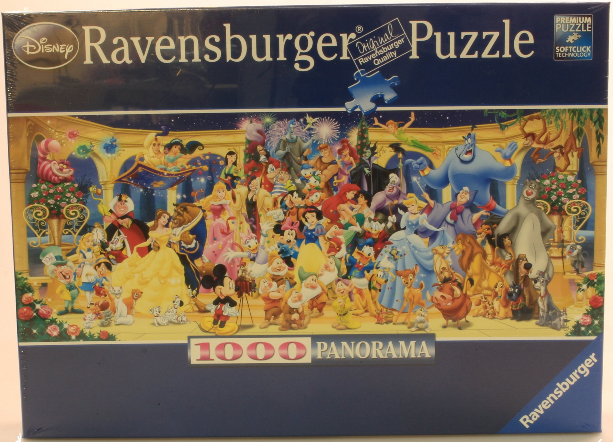 4-X-Ravensburger-Disney-Panoramic-1000pc-Jigsaw-Puzzle-Free-Delivery