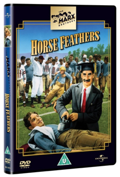 The Marx Brothers: Horse Feathers [Regions 2,4,5] - DVD - New - Free Shipping.