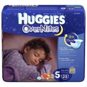 Huggies Overnites Nappies  - 23 Ct - Size 5