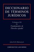 Diccionario de Terminos Juridicos [Spanish]