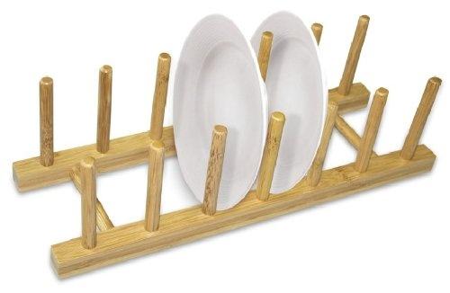 Home-Basics-Bamboo-Dish-Rack-3-Pack-Promo-Brand-New