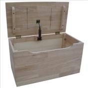 International Concepts Unfinished Juvenile 55.9cm Storage Box
