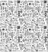 7 Gipsies 474859 Tissue Paper 50cm . x 80cm . 4-Pkg-Numero