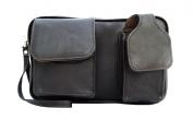 Piel 2283-CHC Chocolate Mens Bag