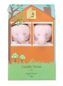 Angel Dear Blankie Cuddle Twin Set - Pink Elephant