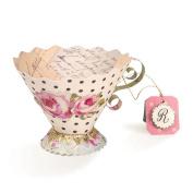 Sizzix Bigz L Die by Brenda Walton - Tea Cup, 3-D