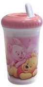 "Spel 004629 Beaker with Spout ""Winnie the Pooh"" Theme Pink"