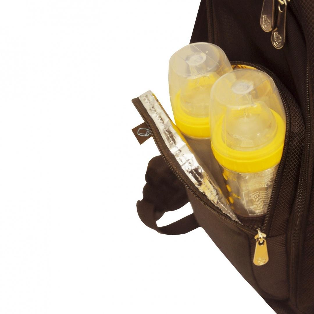 fisher price fastfinder dome diaper backpack brown. Black Bedroom Furniture Sets. Home Design Ideas