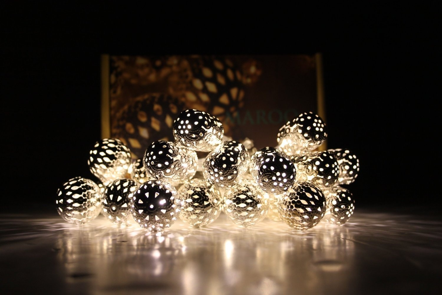 Decorative String Lights Nz : Maroq Decorative String Light Chain Battery Operated eBay
