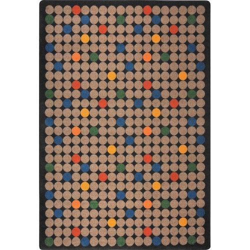 Joy-Carpets-Playful-Patterns-Spot-On-Kids-Rug-Huge-Saving