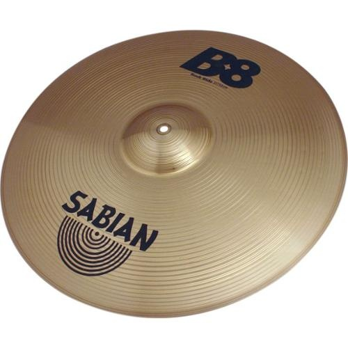 sabian b8 series rock ride cymbal 50cm free shipping ebay. Black Bedroom Furniture Sets. Home Design Ideas