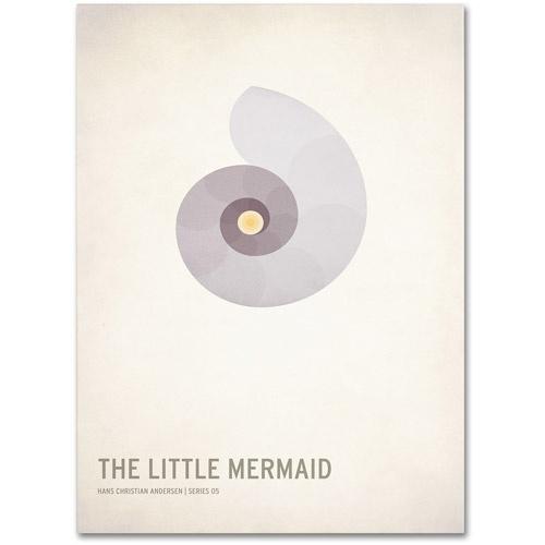 Trademark-Fine-Art-034-The-Little-Mermaid-034-Canvas-Art-by-Christian-Jackson-Best-Pr
