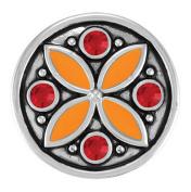 Ginger Snaps CARAVAN - ORANGE/RED SN05-43 Interchangeable Jewellery Snap Accessory