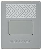 Fiskars 105690-1001 AdvantEdge Interchangeable Border Punch, Dotted Herringbone