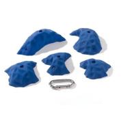 Nicros HHPL Medium Polyester Resin Tweekz Handholds - Blue