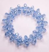 Light Blue Crystal Bracelet -good for health-- J091