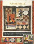 Home Is Where the Haunt Is Wallhanging Pattern By Kimberbell