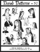 Tudor Era Headdresses, C. 1490-1580 A.d Pattern