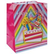 Gift Bags 20cm x 12cm X9.190cm -Birthday Cake