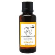Erbaviva Stretch Mark Oil 4oz,125ml Organic Bath Body Moisturiser NEW