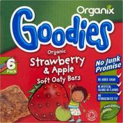 Organix Goodies Organic Soft Oaty Bars - Strawberry & Apple 12mth+