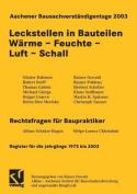 Aachener Bausachverstandigentage 2003