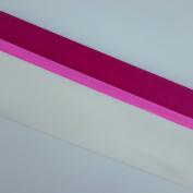 Crepe Paper Pink White Fiusha 3 Pc