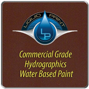Dark Brown Hydrographics Paint - 0.9l - Water Based - Liquid Print Hydrographics Paint Supplies