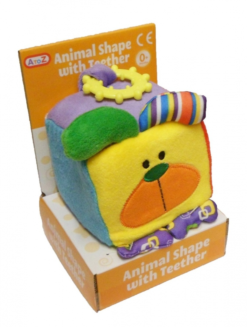 Soft-Animal-Shape-With-Teether-Assorted-Animals-Dog-Free-Delivery
