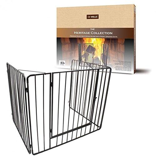 Metal Child Safety Fire Guard Fireplace Screen Hearth Gate 97 X 77 X 76cm Free Ebay