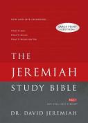 Jeremiah Study Bible-NKJV-Large Print [Large Print]