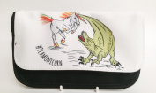 dinosaur vs unicorn unicorn vs dinosaur #teamdinosaur pencil case
