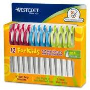 Junior Scissors, Pointed Tip, 13cm Full, 12/PK, STST/AST, Sold as 1 Package, 12 Each per Package
