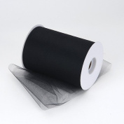 Kate's Craft Store. BLACK Tulle 15cm x 90m (100 yards long) roll.