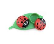 Kikkerland MG51 Ladybug Contact Lens Case