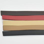 2 PCS PU Faux Leather 120cm Handle Strap for Replacement Purse Bag