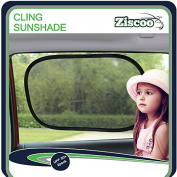 **TOW DAY SALE** Car Sun Shade {2 Pack} Baby Car Sun Shade Blocks Over 97% of Harmful UV Rays and Protects Your Child From Sunlight and Glare - Static Cling Car Sunshades Fits Most Vehicles