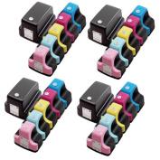 24 Pack HP 02 (4 Black, 4 Cyan, 4 Magenta, 4 Yellow, 4 Light Cyan, 4 Light Magenta ) Ink Cartridge