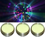 "The Disco Effect ""G Neon Yellow Nail Art Glitter Disco Lighting Effect"