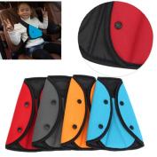 Kungfu Mall Child Car Safety Cover Harness Strap Cars Adjuster Pad Baby Kid Seat Belt Seatbelt Clip Seat Belt Adjustable Knob Belt