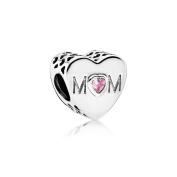 PANDORA Mother Heart Charm 791881PCZ