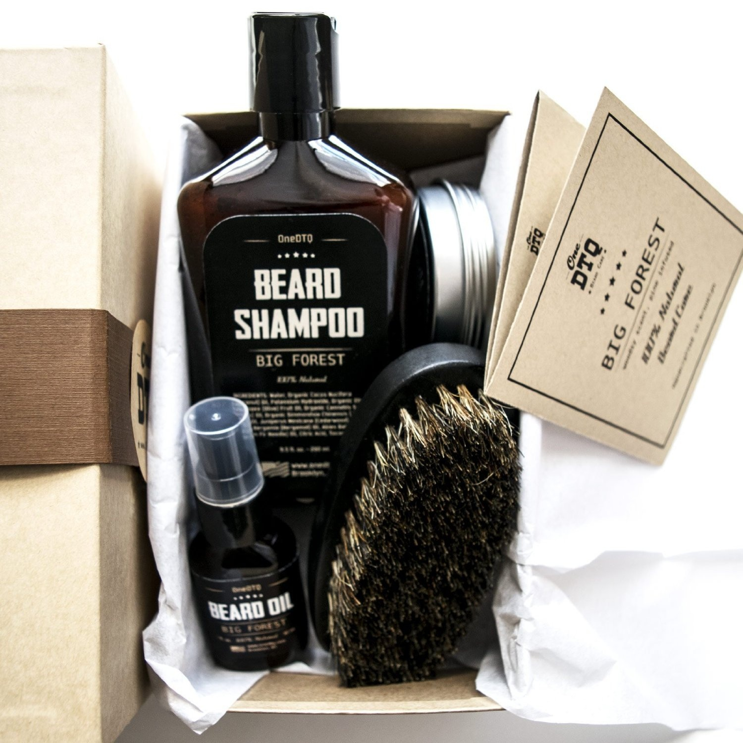 big forest beard grooming kit beard growth beard shampoo beard oil beard balm beard brush. Black Bedroom Furniture Sets. Home Design Ideas