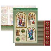Hunkydory Crafts Christmas Classics - Toyshop WIndow Topper Set