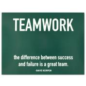 Teamwork Success Presentation Card - Pack of 25