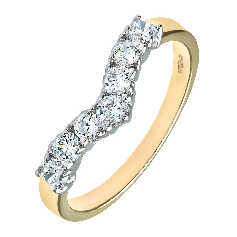 Citerna 9ct Yellow Gold Wish Bone Ring yknDs
