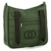 Cosy Coop Quilted Nappy Bag, Emerald