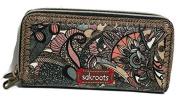 Sakroots Double Zip Wallet, Sienna Spirit Desert 107216