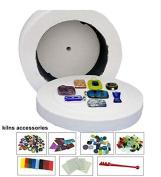 Low Price Sale 8pcs set Of Large Microwave Kiln Kits For Glass Fusing