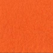 Orange Anti-Pill Fleece Fabric By The Yard
