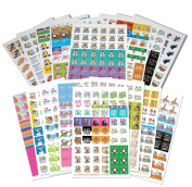 864 Planner Stickers Bundle Set Busy Mom + Every Gal Collection For Every Calendar, Planner and Organiser